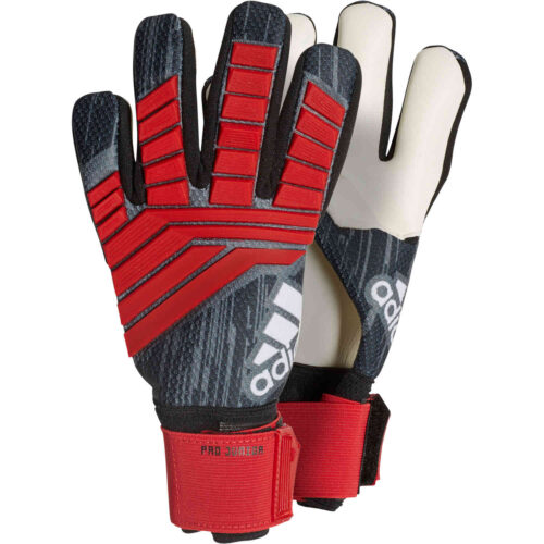 adidas Predator Pro Goalkeeper Gloves – Youth – Black/Red