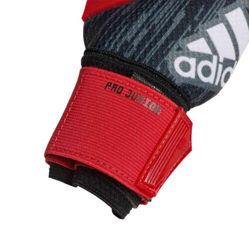 adidas Predator Pro Goalkeeper Gloves – Youth – Black/Red