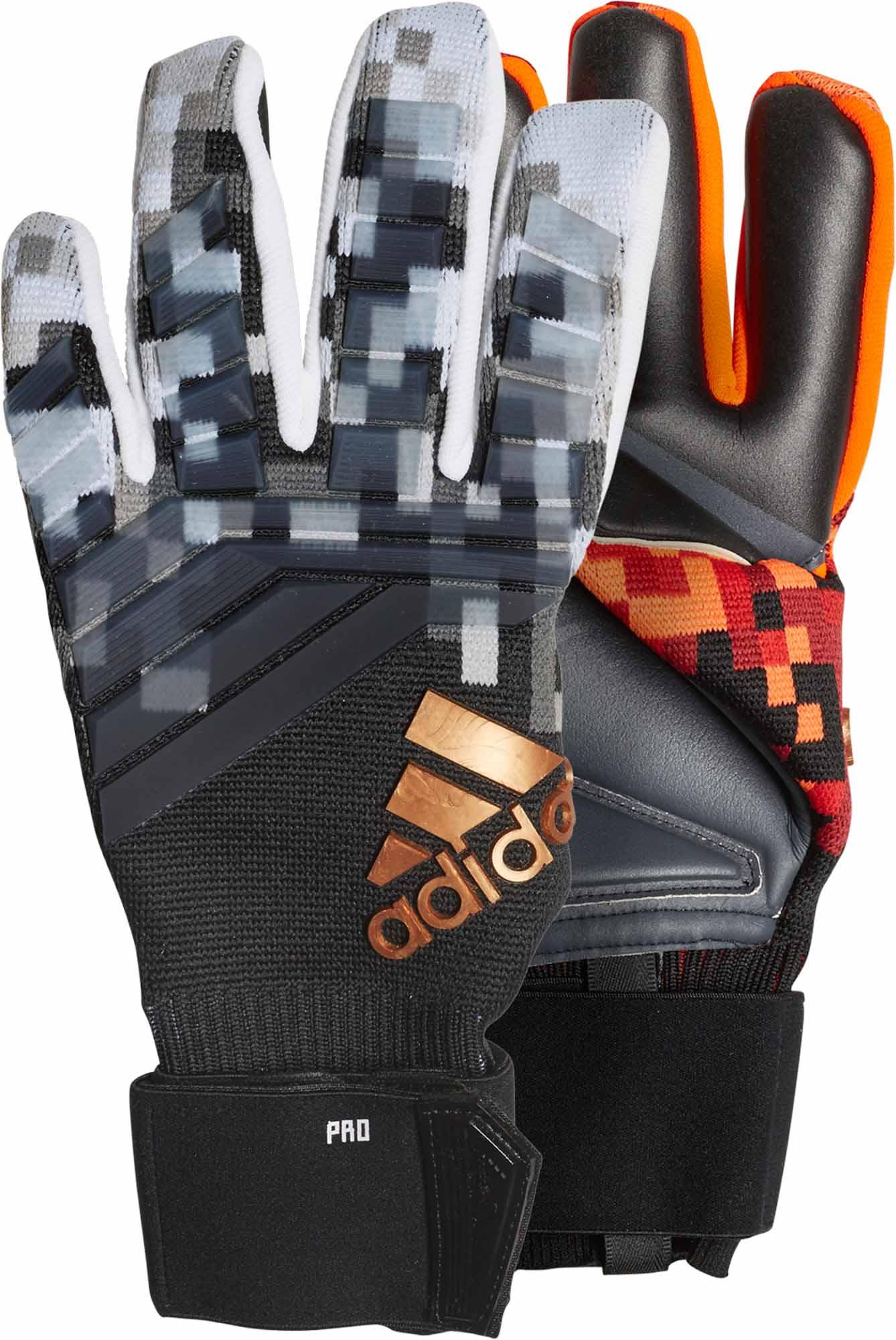 1645e0ec5157 adidas Predator World Cup Goalkeeper Gloves - Red/Black - SoccerPro