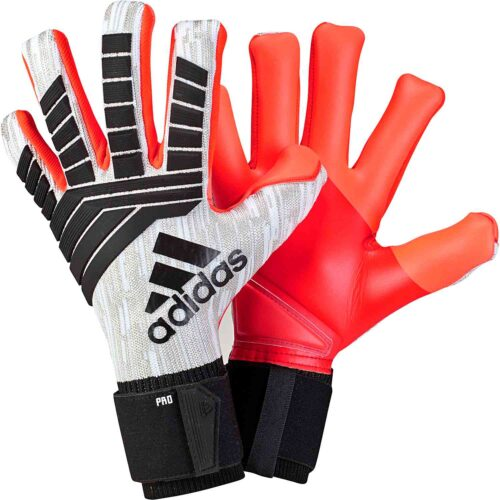 adidas Predator Pro Goalkeeper Gloves – Manuel Neuer – White/Black
