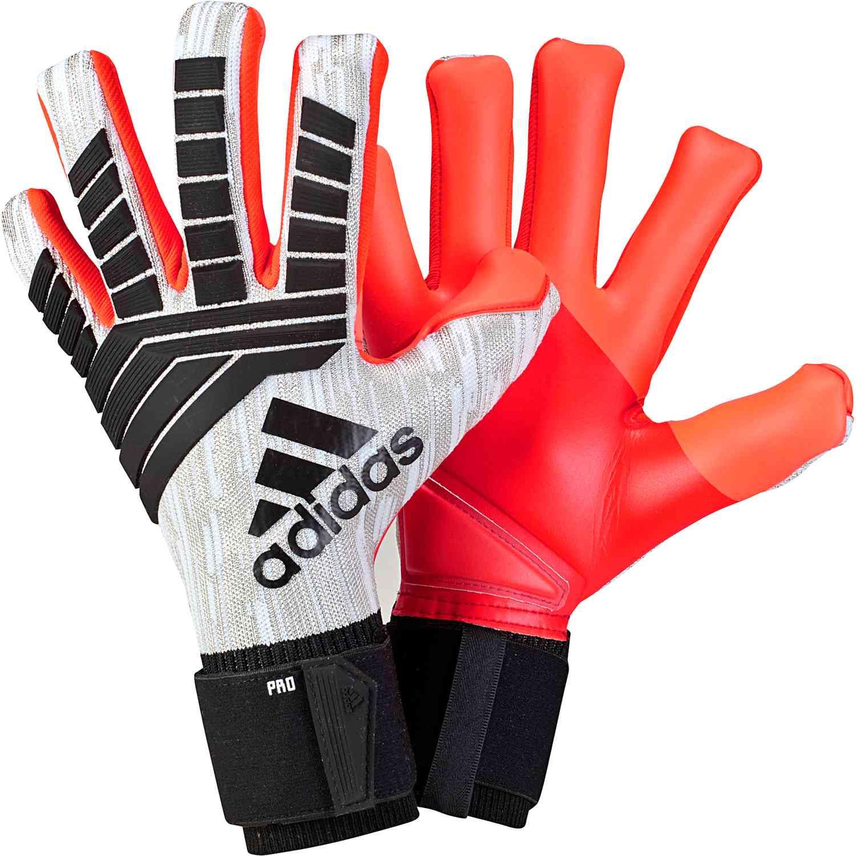 a762c5f56 adidas Predator Pro Goalkeeper Gloves - Manuel Neuer - White/Black ...