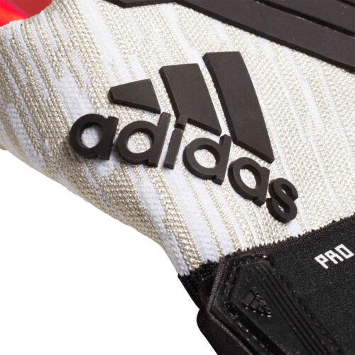 adidas Predator Pro Goalkeeper Gloves – Manuel Neuer – White/Black