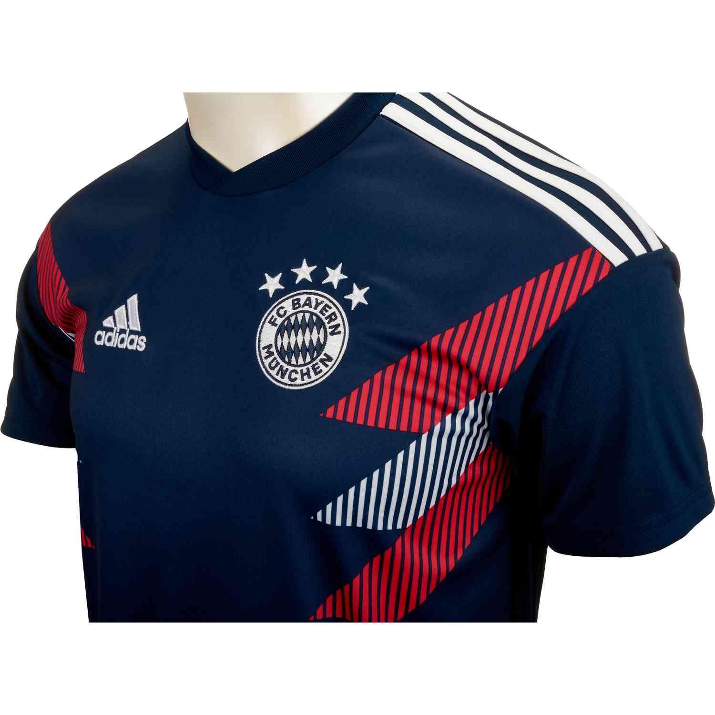 low priced 51e5f 5860f adidas Bayern Munich Home Pre Match Jersey 2018-19 - SoccerPro