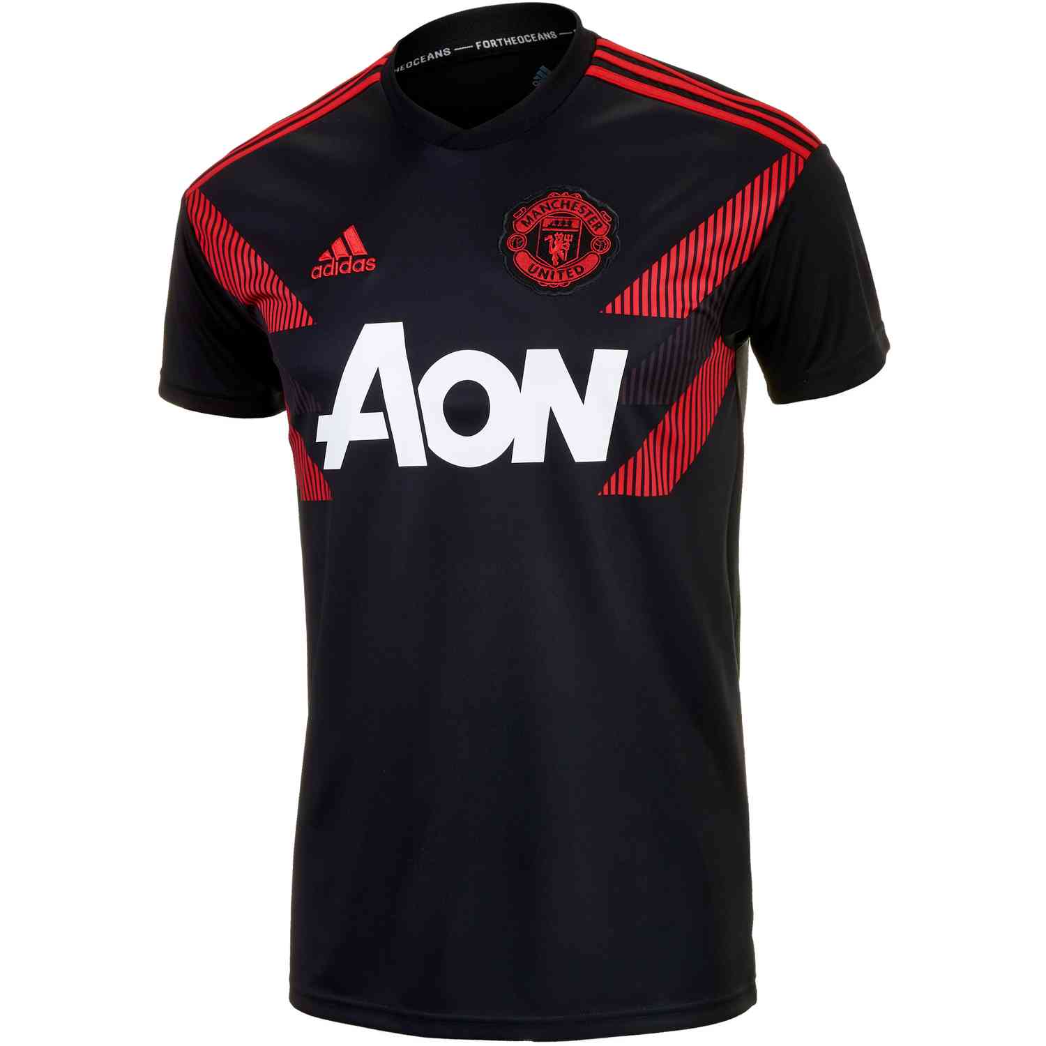 free shipping 1ed60 ac82e adidas Manchester United Home Pre Match Jersey 2018-19