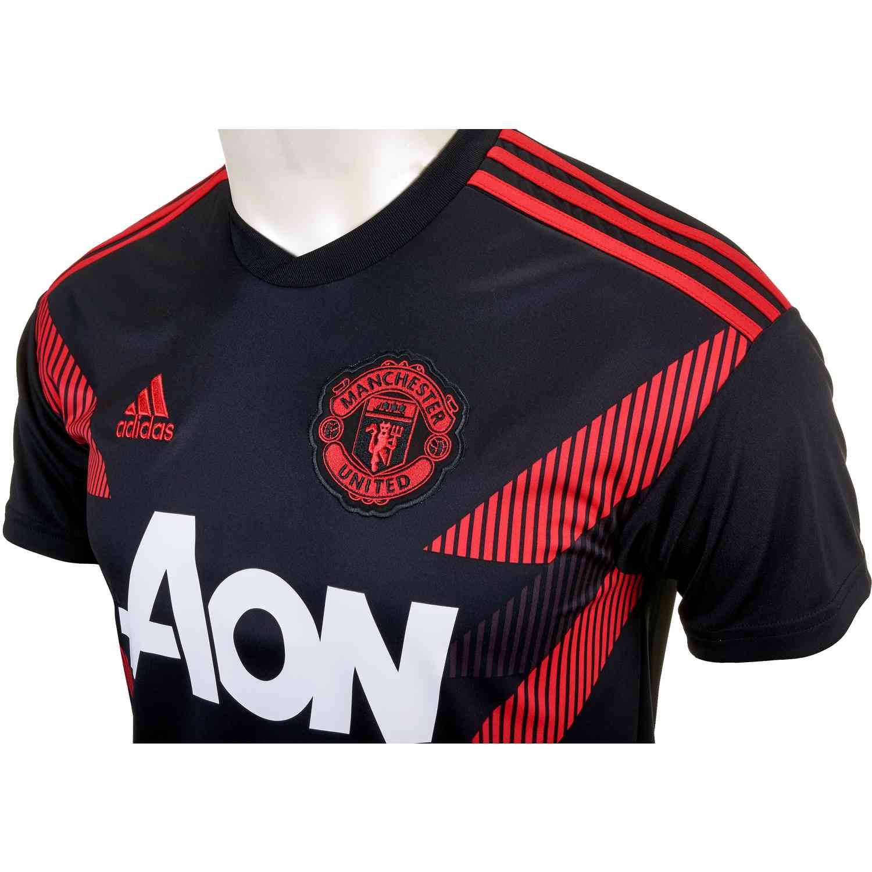 the best attitude 19c40 4377c adidas Manchester United Home Pre Match Jersey 2018-19 - SoccerPro