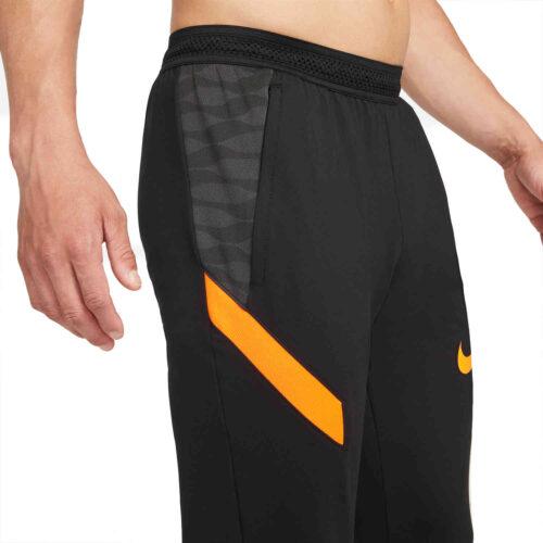 Nike Dri-FIT Strike21 Training Pants – Black/Anthracite/Total Orange