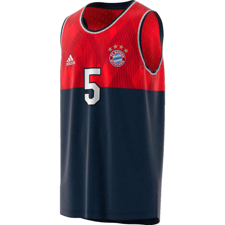finest selection 4935e b3e14 adidas Bayern Munich SSP Tank – Collegiate Navy/FCB True Red