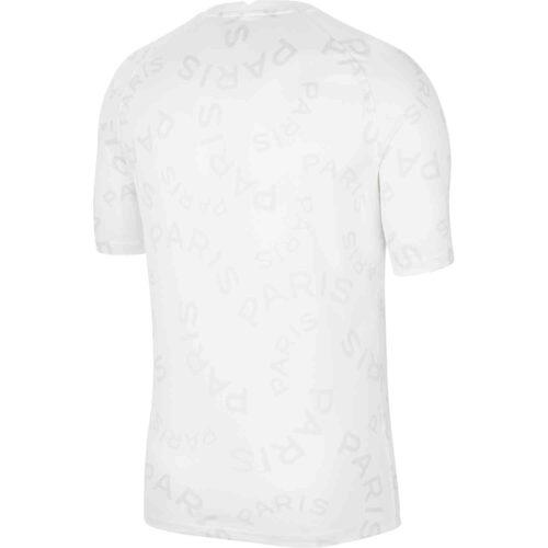 Nike PSG Pre-Match Top – White/Black