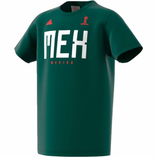 fd8bfa803 adidas Mexico Tee – Youth – Collegiate Green