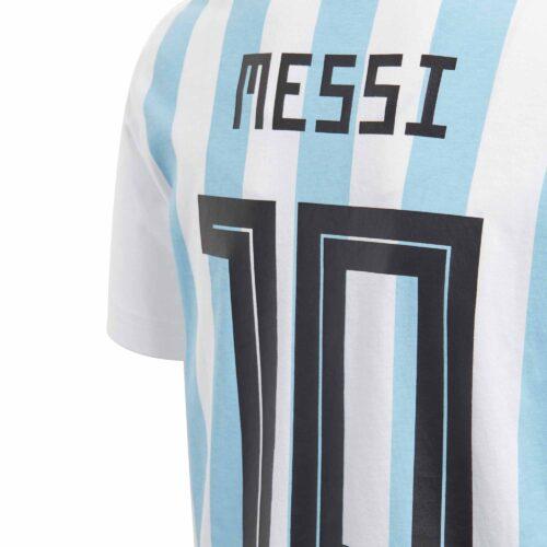 adidas Messi Tee – Youth – White