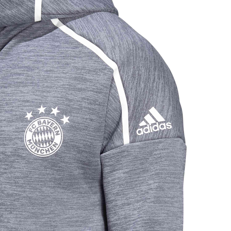2016 2017 Bayern Munich Adidas Training Pants (Solid Grey) Kids