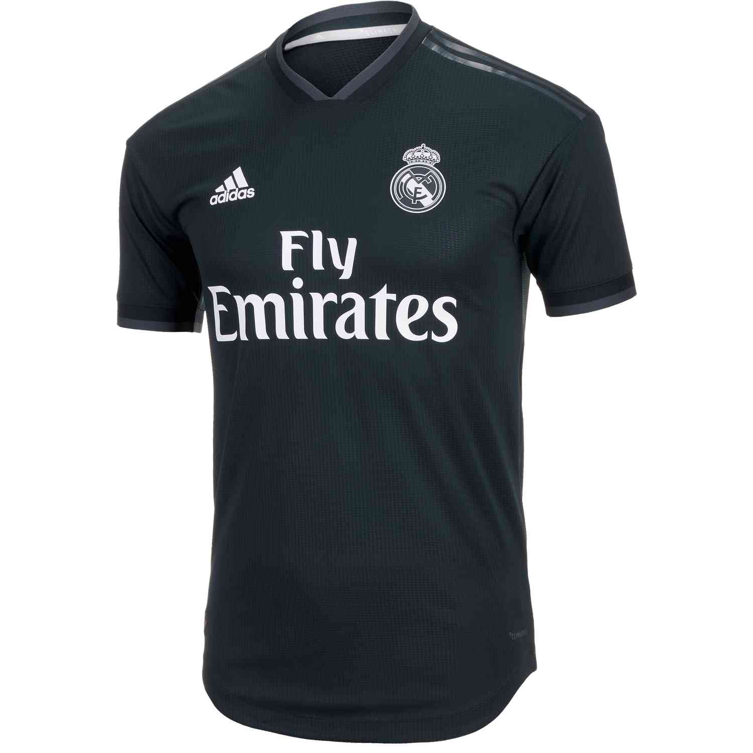 adidas Real Madrid Away Authentic Jersey 2018-19 - SoccerPro 43242a276