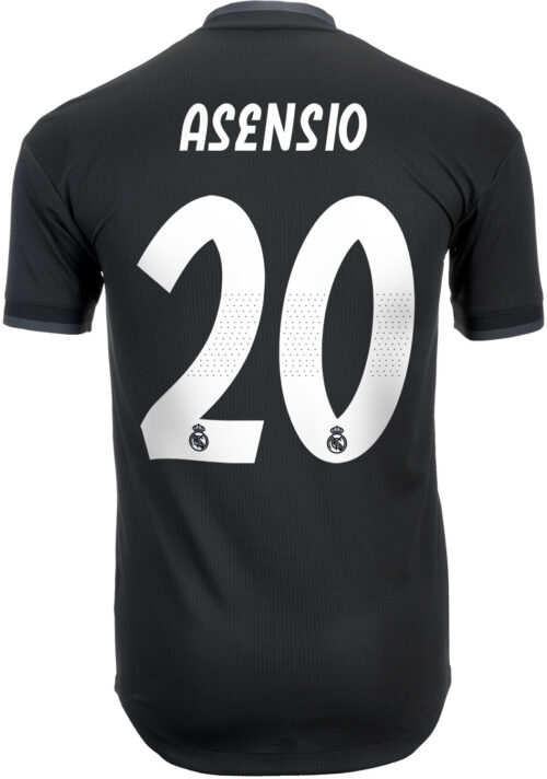 adidas Marco Asensio Real Madrid Away Authentic Jersey 2018-19