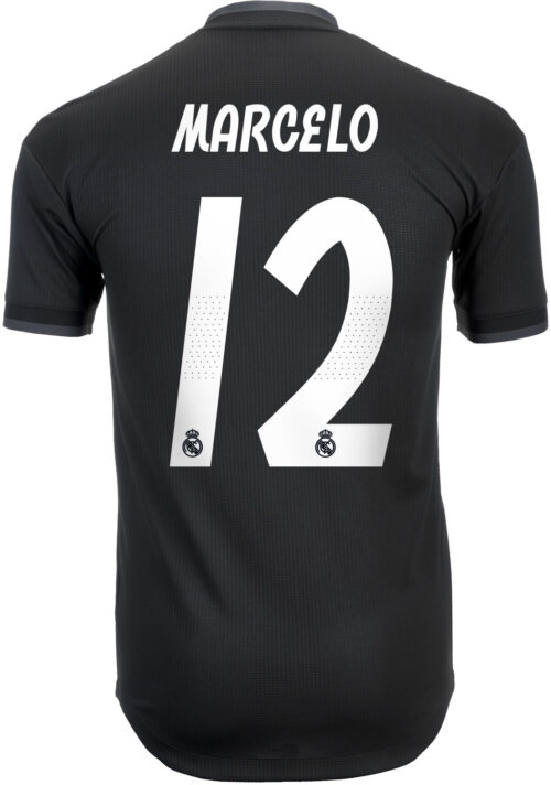 adidas Marcelo Real Madrid Away Authentic Jersey 2018-19