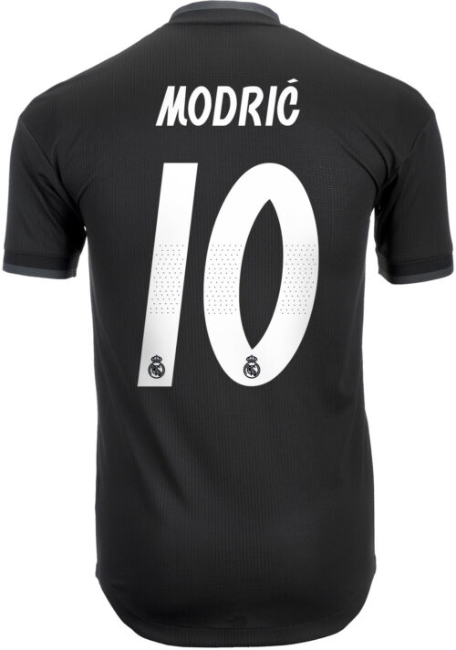 adidas Luka Modric Real Madrid Away Authentic Jersey 2018-19
