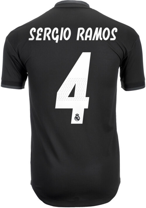 adidas Sergio Ramos Real Madrid Away Authentic Jersey 2018-19