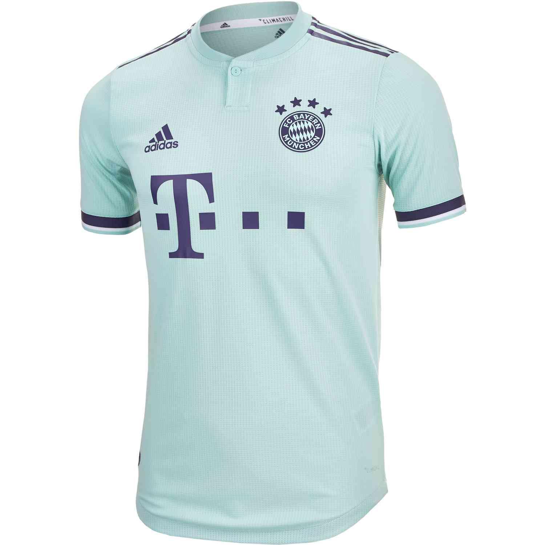 adidas Bayern Munich Away Authentic Jersey 2018-19 - SoccerPro