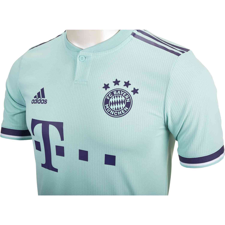 buy popular e5fee 74de0 adidas Bayern Munich Away Authentic Jersey 2018-19 - SoccerPro