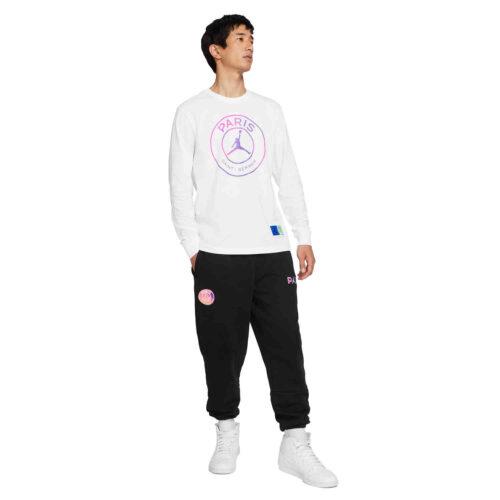 Jordan PSG L/S Tee – White/Black