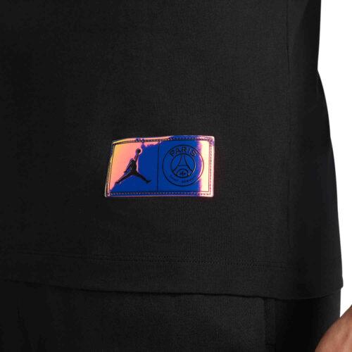 Jordan PSG Wordmark Tee – Black/Hyper Pink