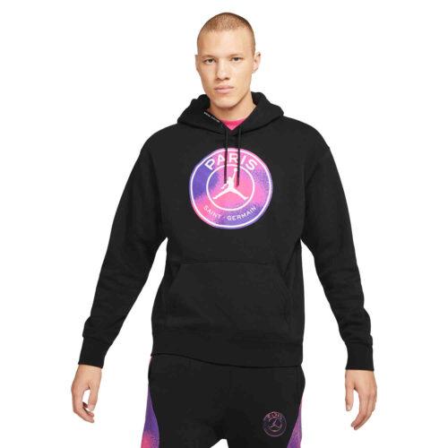 Jordan PSG Fleece Pullover Hoodie – Black