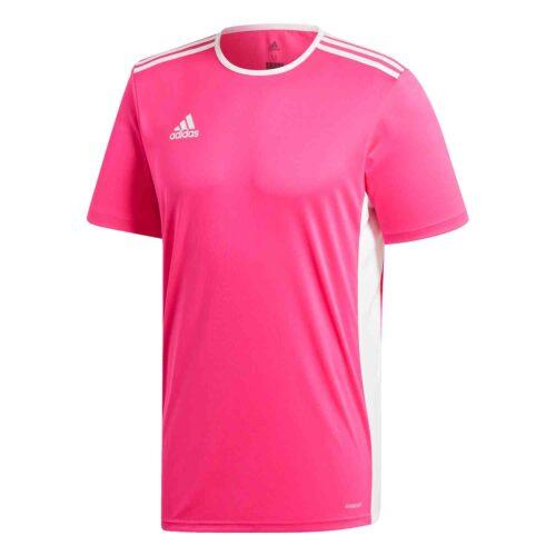 adidas Entrada 18 Jersey – Shock Pink/White