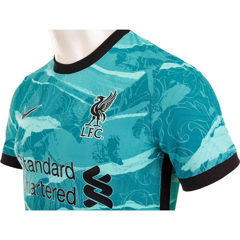 2020/21 Nike Alex Oxlade-Chamberlain Liverpool Away Match Jersey ...