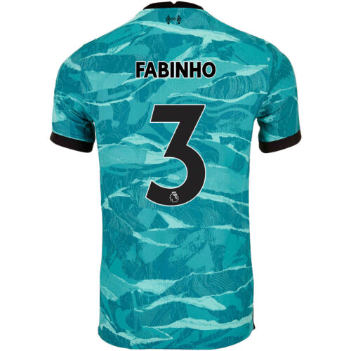 2020/21 Nike Fabinho Liverpool Away Match Jersey