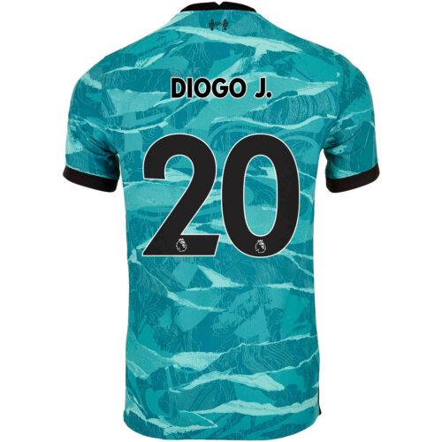 2020/21 Nike Diogo Jota Liverpool Away Match Jersey