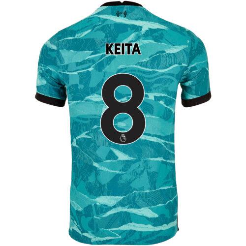 2020/21 Nike Naby Keita Liverpool Away Match Jersey