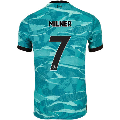 2020/21 Nike James Milner Liverpool Away Match Jersey