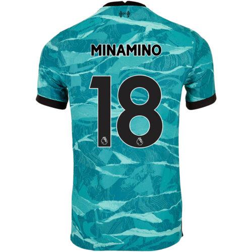 2020/21 Nike Takumi Minamino Liverpool Away Match Jersey