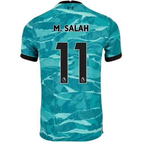 2020/21 Nike Mohamed Salah Liverpool Away Match Jersey