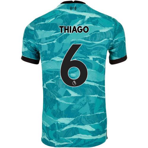 2020/21 Nike Thiago Liverpool Away Match Jersey
