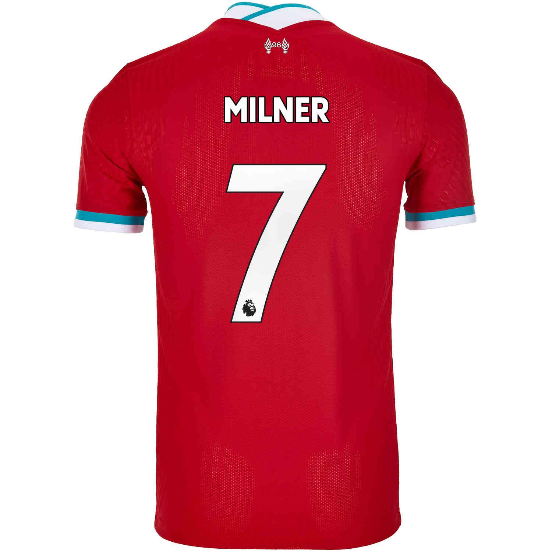 2020/21 Nike James Milner Liverpool Home Match Jersey - SoccerPro