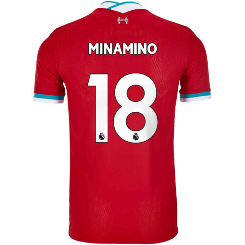 2020/21 Nike Takumi Minamino Liverpool Home Match Jersey
