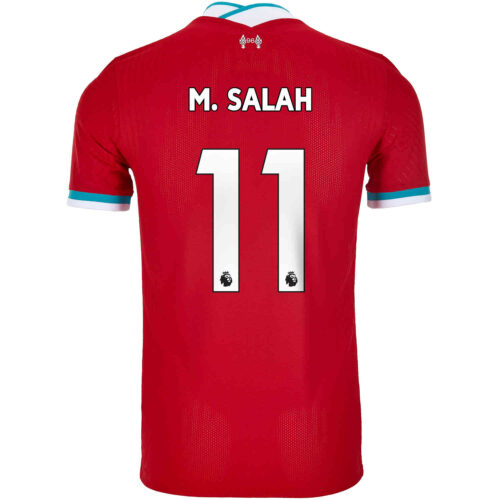 2020/21 Nike Mohamed Salah Liverpool Home Match Jersey