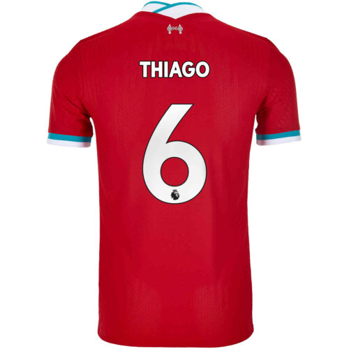 2020/21 Nike Thiago Liverpool Home Match Jersey