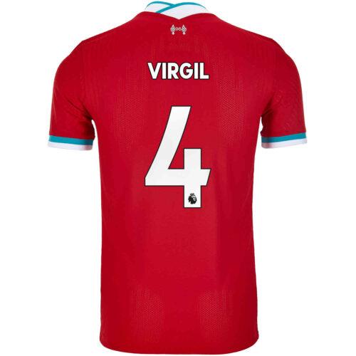 2020/21 Nike Virgil van Dijk Liverpool Home Match Jersey