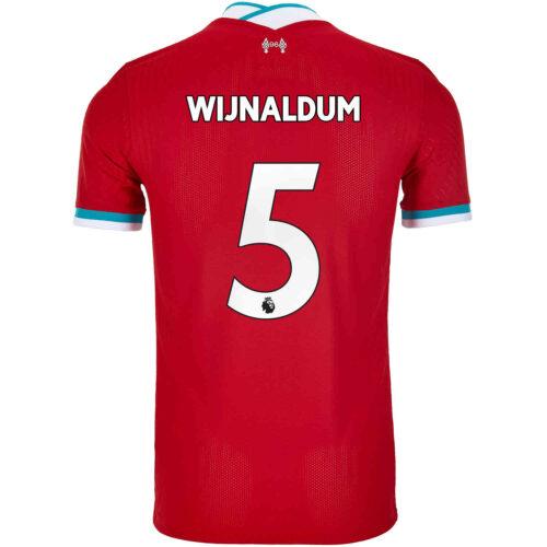 2020/21 Nike Georginio Wijnaldum Liverpool Home Match Jersey