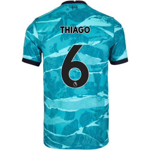 2020/21 Nike Thiago Liverpool Away Jersey