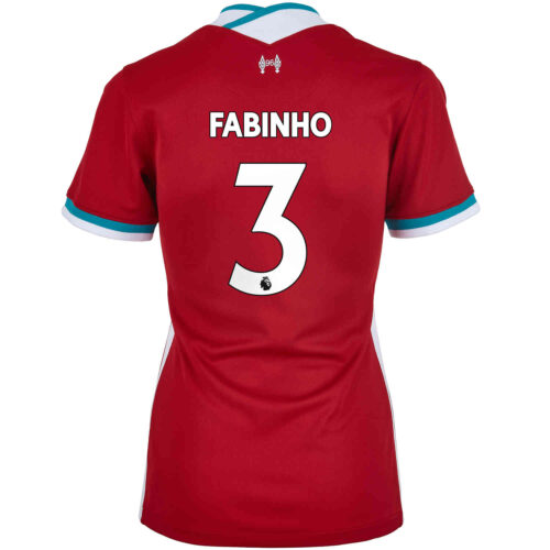 2020/21 Womens Nike Fabinho Liverpool Home Jersey