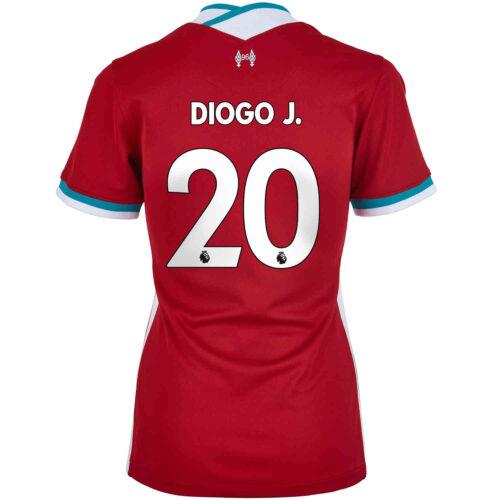 2020/21 Womens Nike Diogo Jota Liverpool Home Jersey