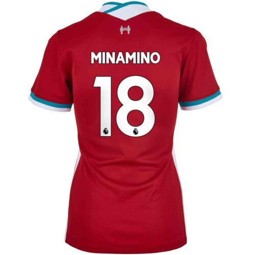 2020/21 Womens Nike Takumi Minamino Liverpool Home Jersey