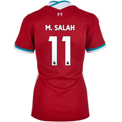 2020/21 Womens Nike Mohamed Salah Liverpool Home Jersey