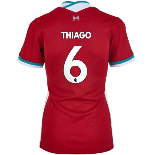 2020/21 Womens Nike Thiago Liverpool Home Jersey