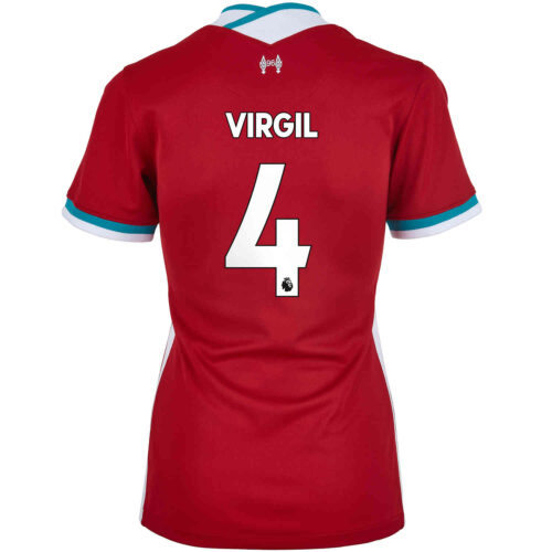 2020/21 Womens Nike Virgil van Dijk Liverpool Home Jersey