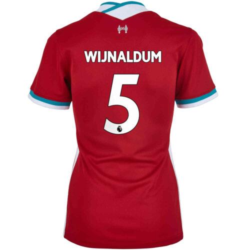 2020/21 Womens Nike Georginio Wijnaldum Liverpool Home Jersey