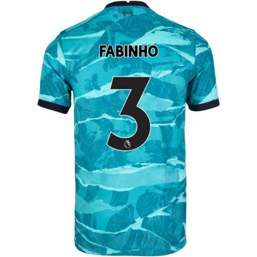 2020/21 Kids Nike Fabinho Liverpool Away Jersey