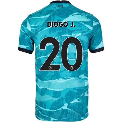 2020/21 Kids Nike Diogo Jota Liverpool Away Jersey